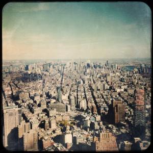 new york one world observatory view on manhattan