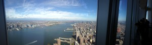 panorama one world observatory view on manhattan