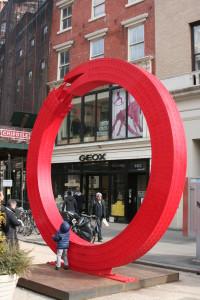 no limits tijdelijk straatkunst new york alexandre arrechea